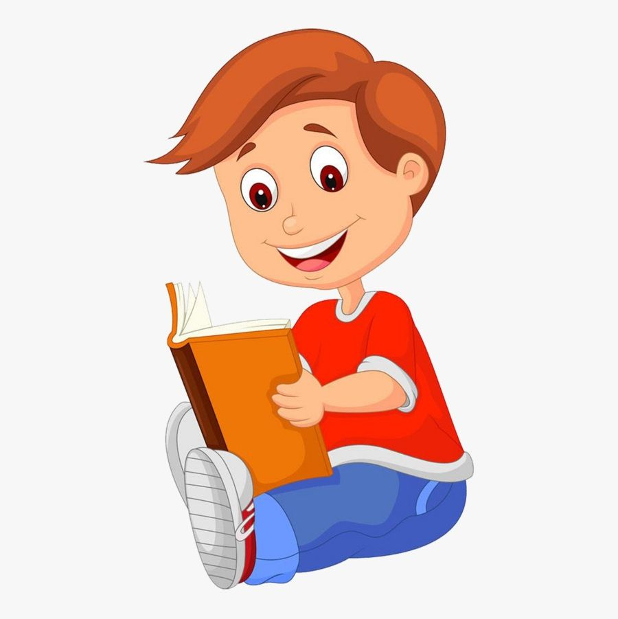 Reading A Book Clipart Images In 2021 Kids Reading Books Book Clip Art Kids Reading