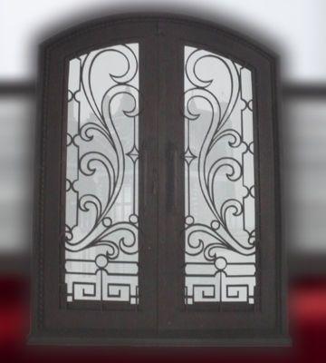 puertas de hierro forjado modernas buscar con google