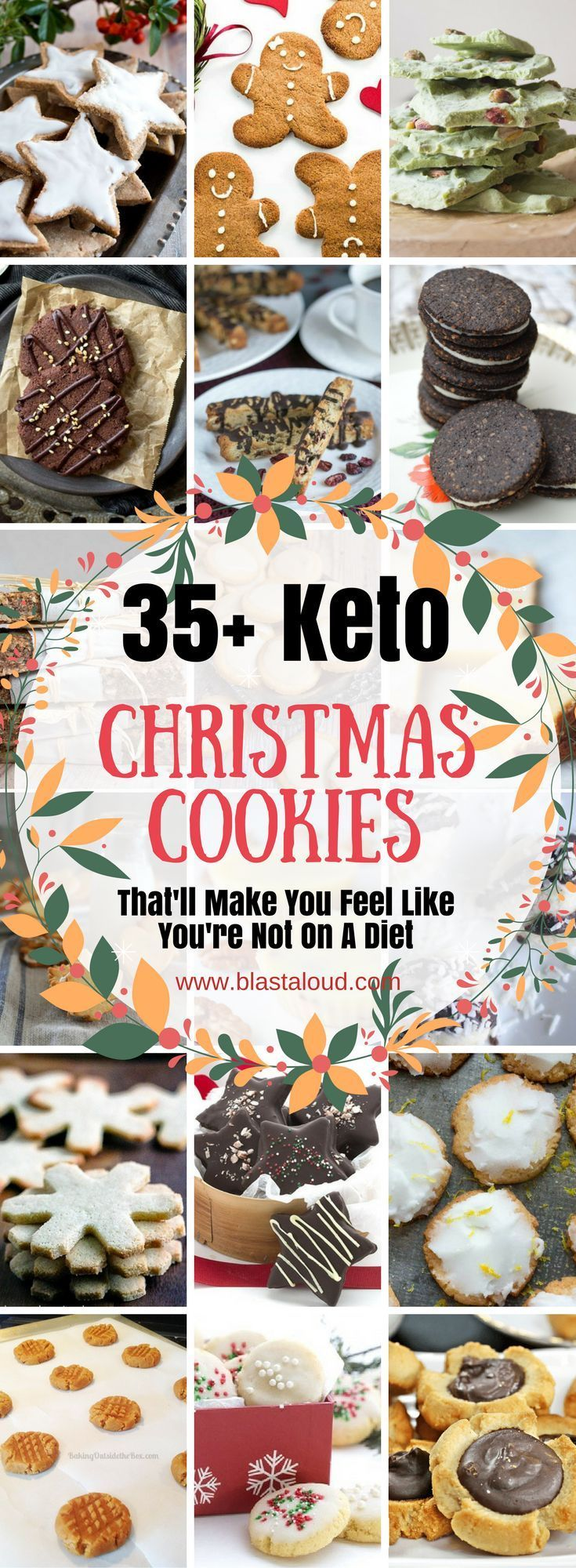 36 Keto Christmas Cookies That'll Make You Feel Like You're Not on a Diet #ketocookierecipes
