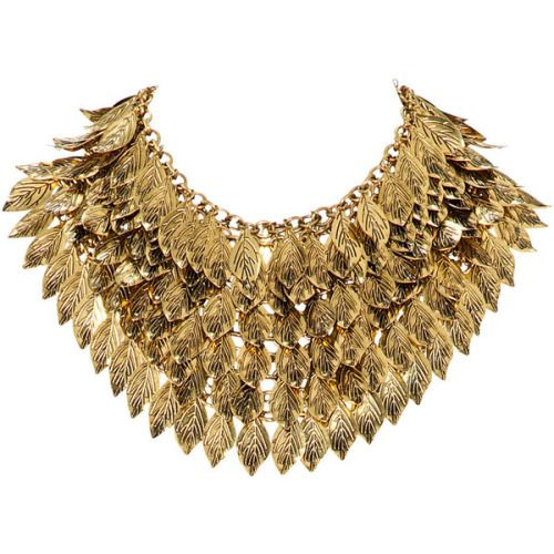 H&M Leaf necklace ❤ liked on Polyvore (see more leaves necklaces)