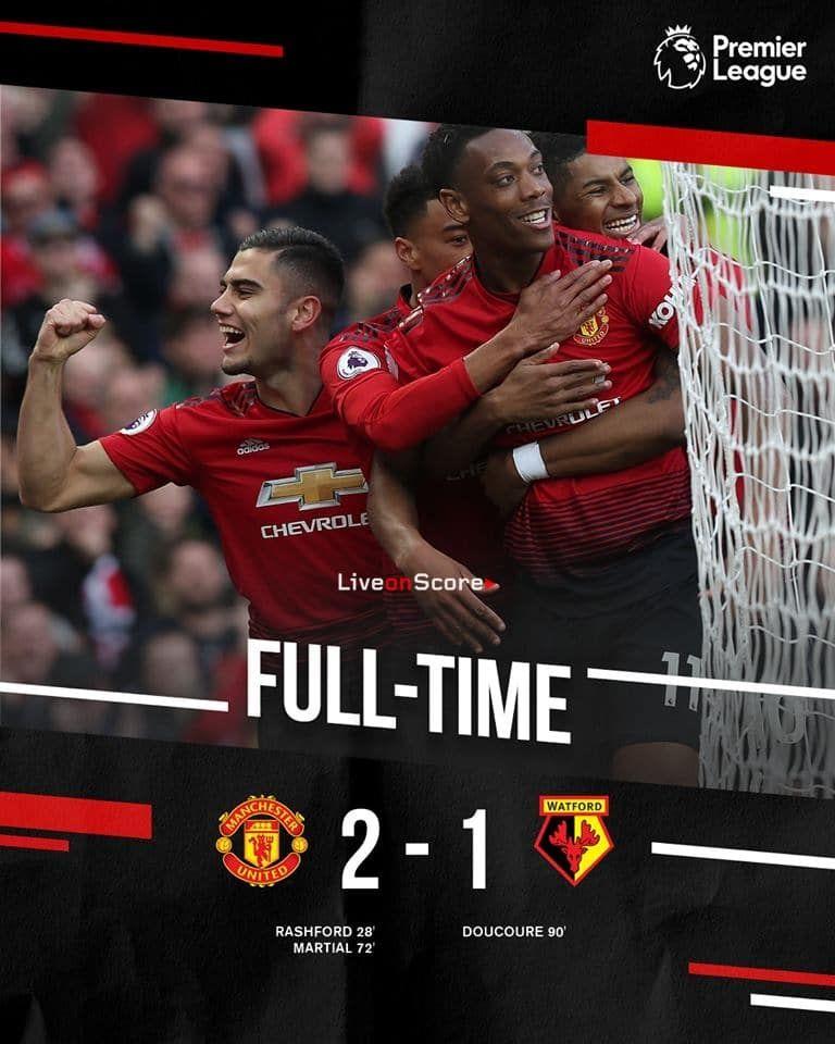 Manchester United 2 1 Watford Full Highlight Video Premier League 2019 Allsportsnews Foo Premier League Manchester United Manchester United Football Club