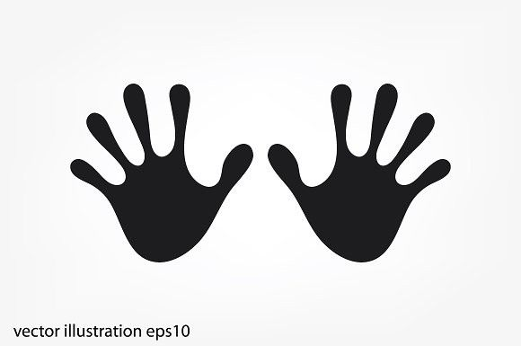 Stop Hands Namaste Art Hand Drawn Icons How To Draw Hands