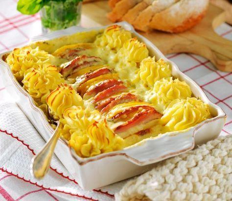 kassler med potatismos
