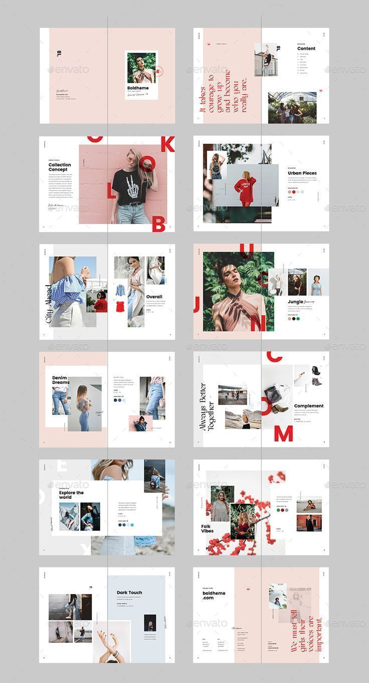 Boldheme / Lookbook & Catalog A4 + Letter