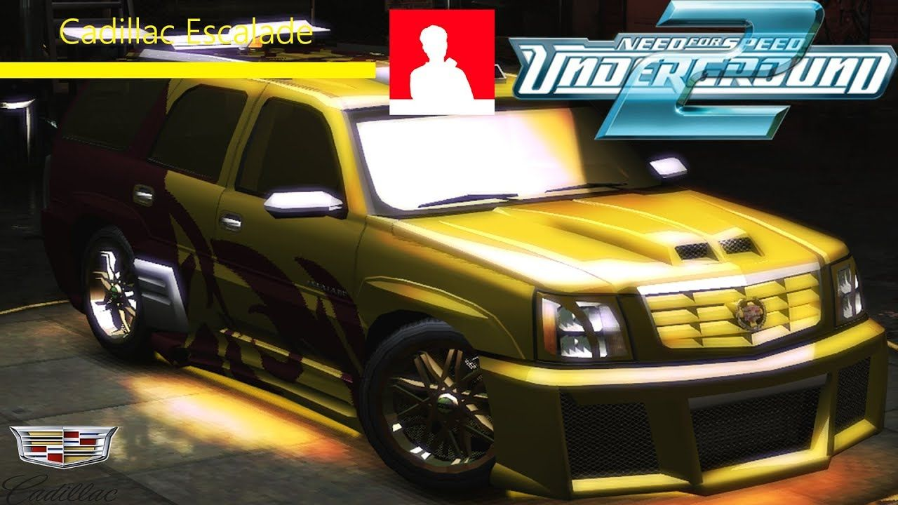 NFS Underground 2 : Cadillac Escalade Tuning #youtube #nfs