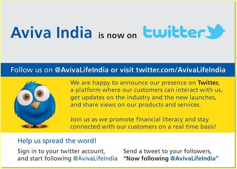 Aviva India On Twitter Follow The Official Handle Avivalifeindia