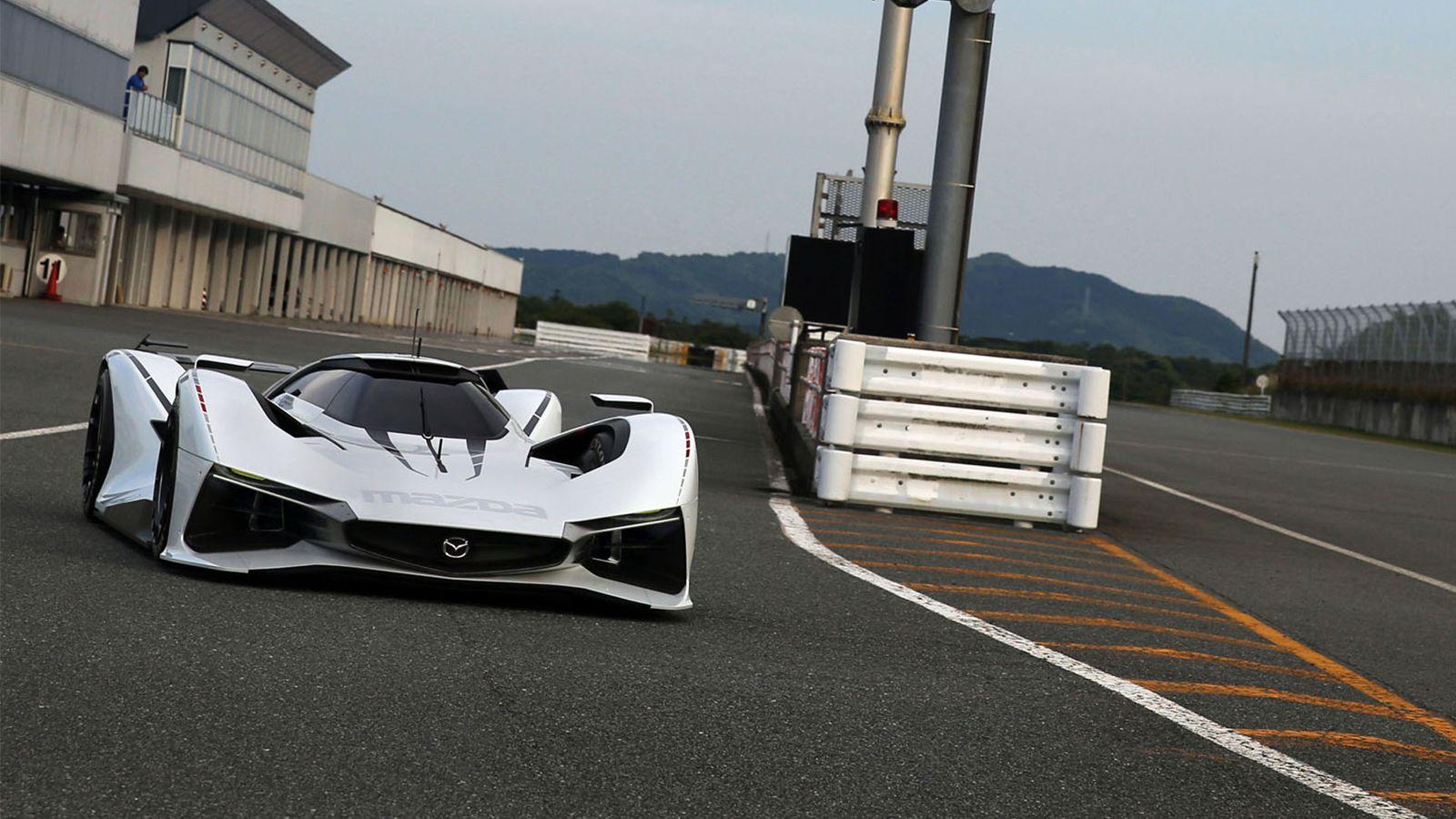 【MAZDA】LM55 ビジョングランツーリスモ 展示車両 NAGOYA AUTO TREND 2016(名古屋オートトレンド2016)