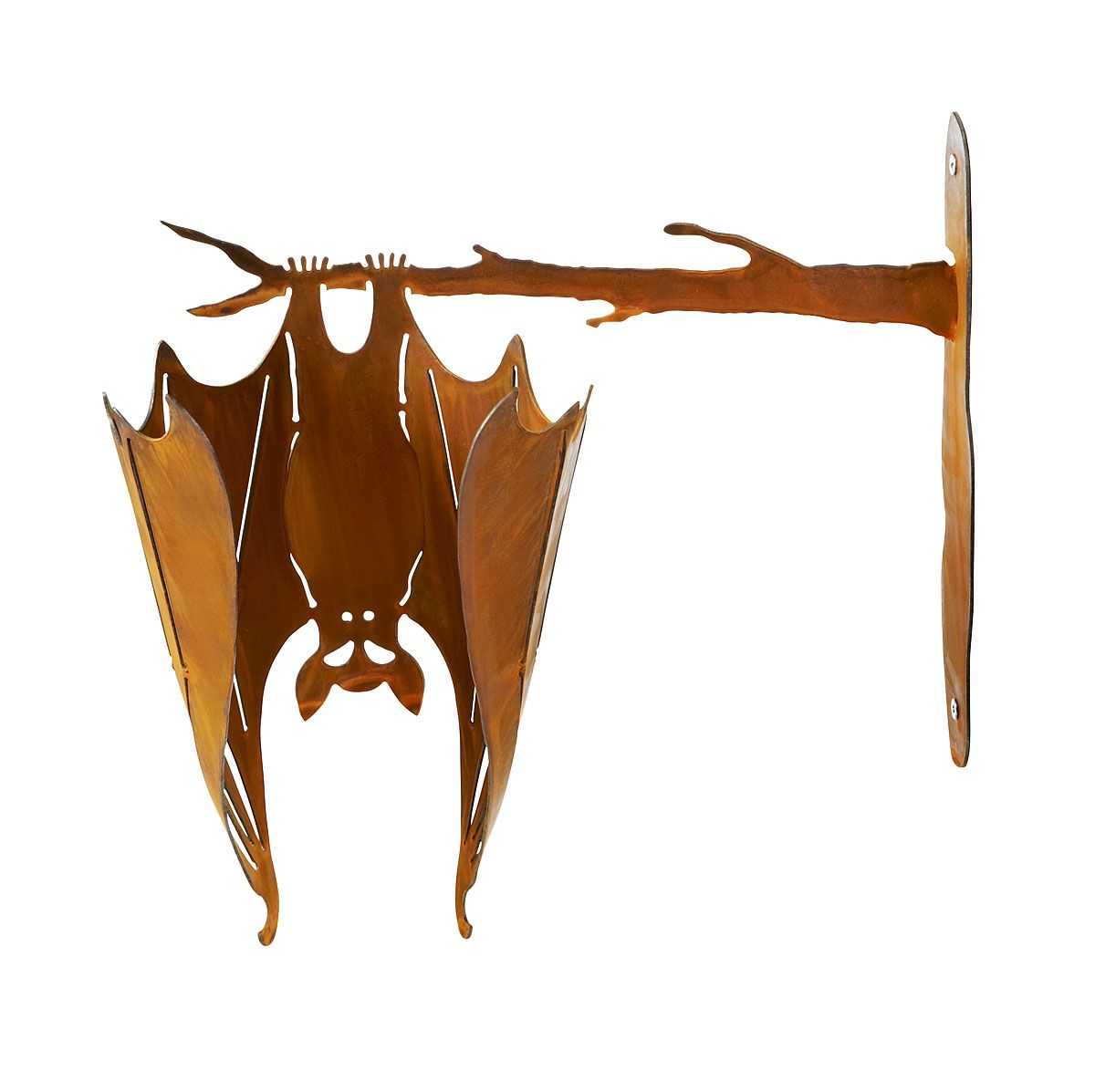Bat On A Branch Outdoor Halloween Decor Porch Decoration