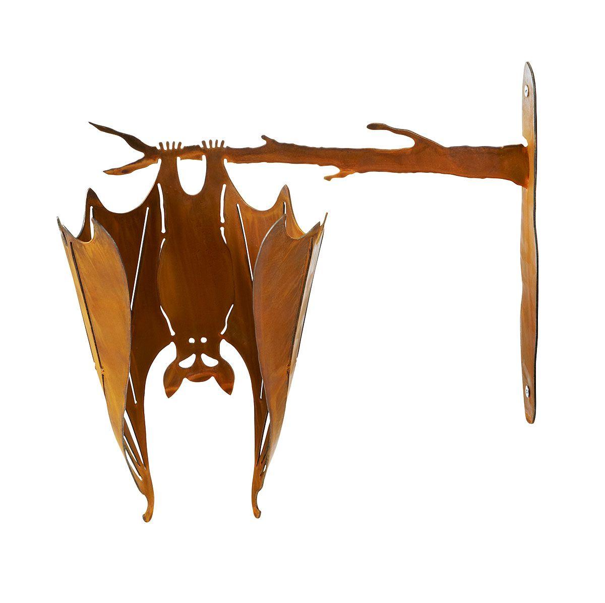 Bat On A Branch Outdoor Halloween Decor Porch Decoration