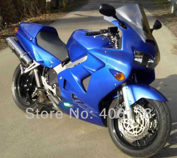 Hot Sales Vfr800rr 98 99 00 01 Vfr 800 1998 1999 2000 2001 Abs Fairing Kit For Honda Vfr800 1998 2001 Blue Motorcycle Fairing Honda Sport Bikes Motorcycle
