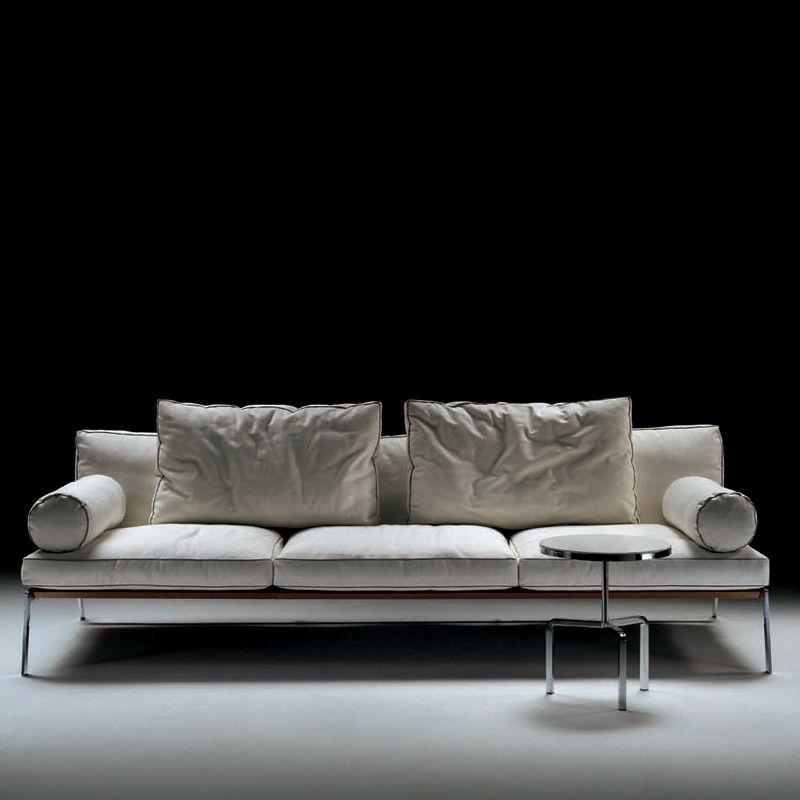 Flexform Happy Sofa - Style # 12P0x, Contemporary Leather ...