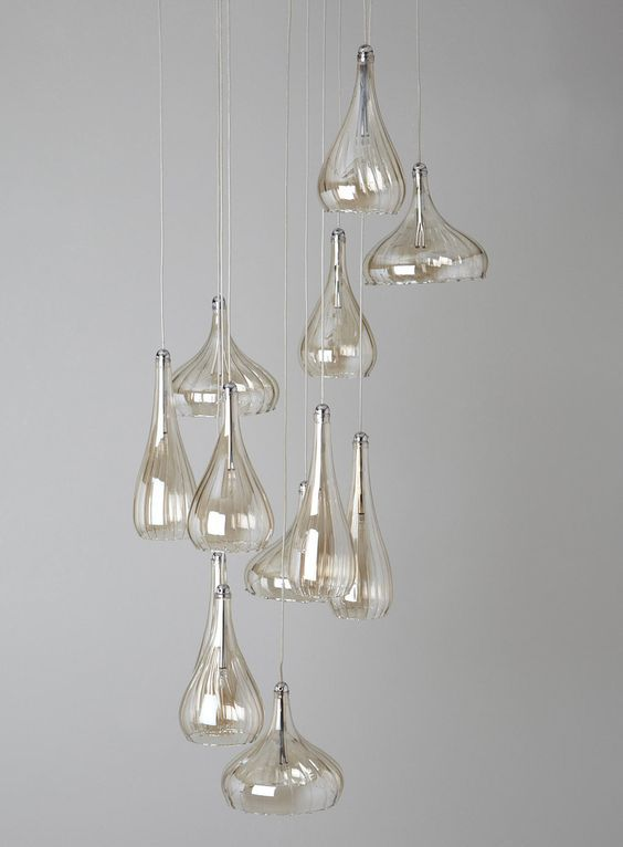 Carrara 12 light ceiling pendant clusters ceiling lights home lighting bhs