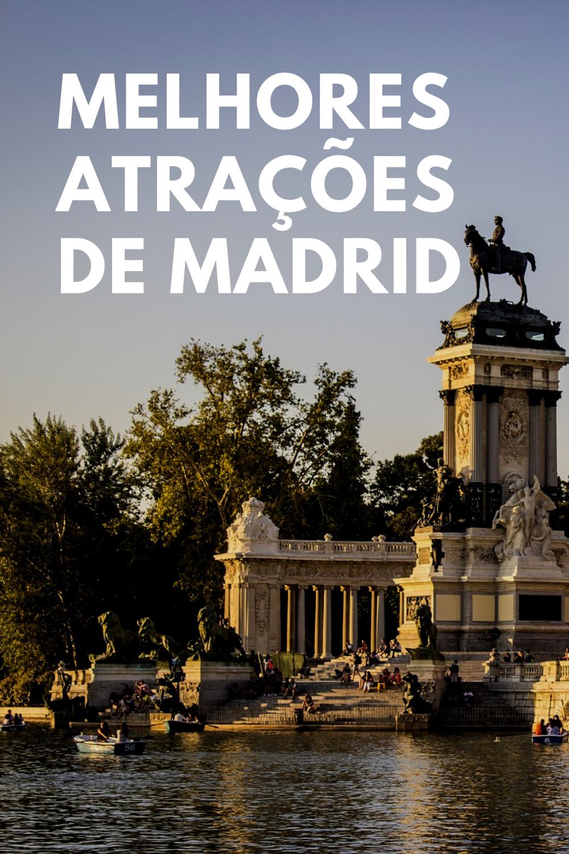 O Que Fazer Em Madrid 25 Pontos Turísticos De Madrid Espanha Em 2020 Madrid Ponto Turístico O Turista