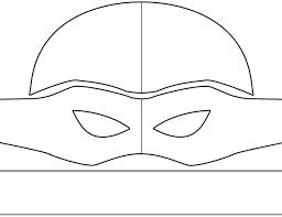 Resultado De Imagem Para Mascara Tartaruga Ninja Molde