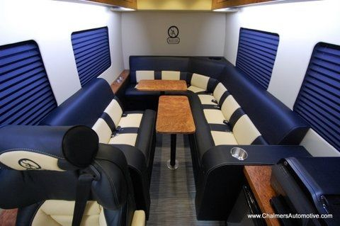 Mercedes Benz Luxury Mobile Office The VIP Conversion Van