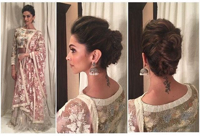 Pin By Chiwa Ranjini On Hairstyles Indian Hairstyles Indian Bun Hairstyles Hair Styles
