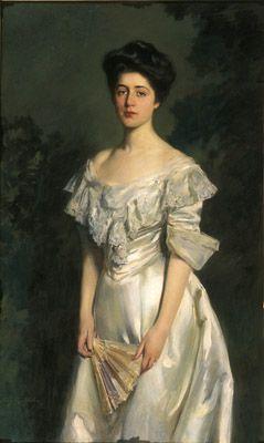 Irving Ramsey Wiles, American, 1861-1948 Emily Henderson Cowperthwaite 1902 Oil on canvas Gift of Emily Henderson Graves Jones, Granddaughter of the Sitter; P.2004.37