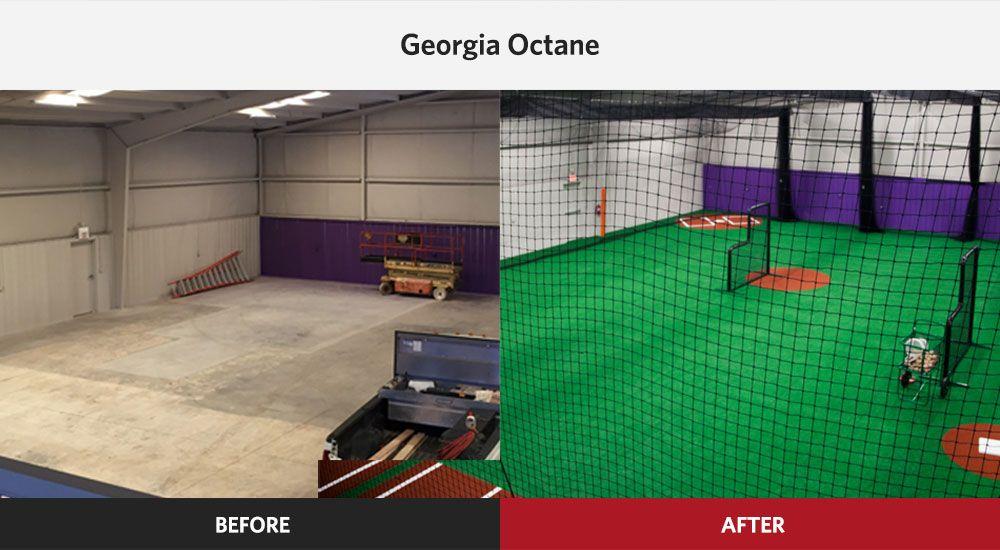 Indoor Baseball Sports Facility Design On Deck Sports Design Kids Nutrition Facility