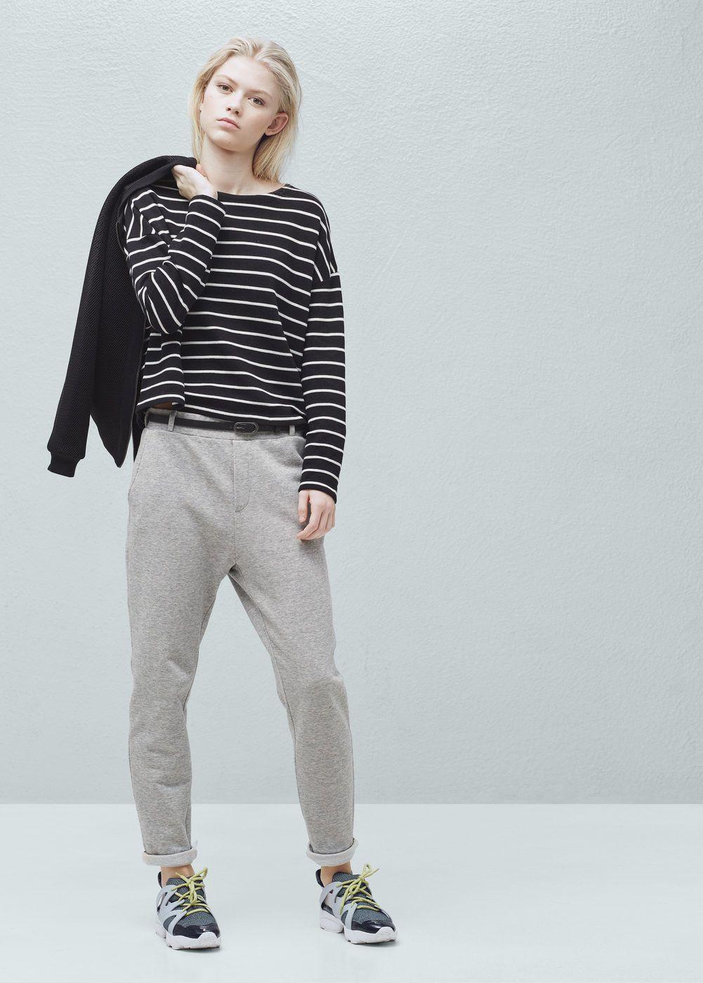 Pocket Jogger Trousers Woman Mango Hungary Pants For Women Trouser Pants Trousers