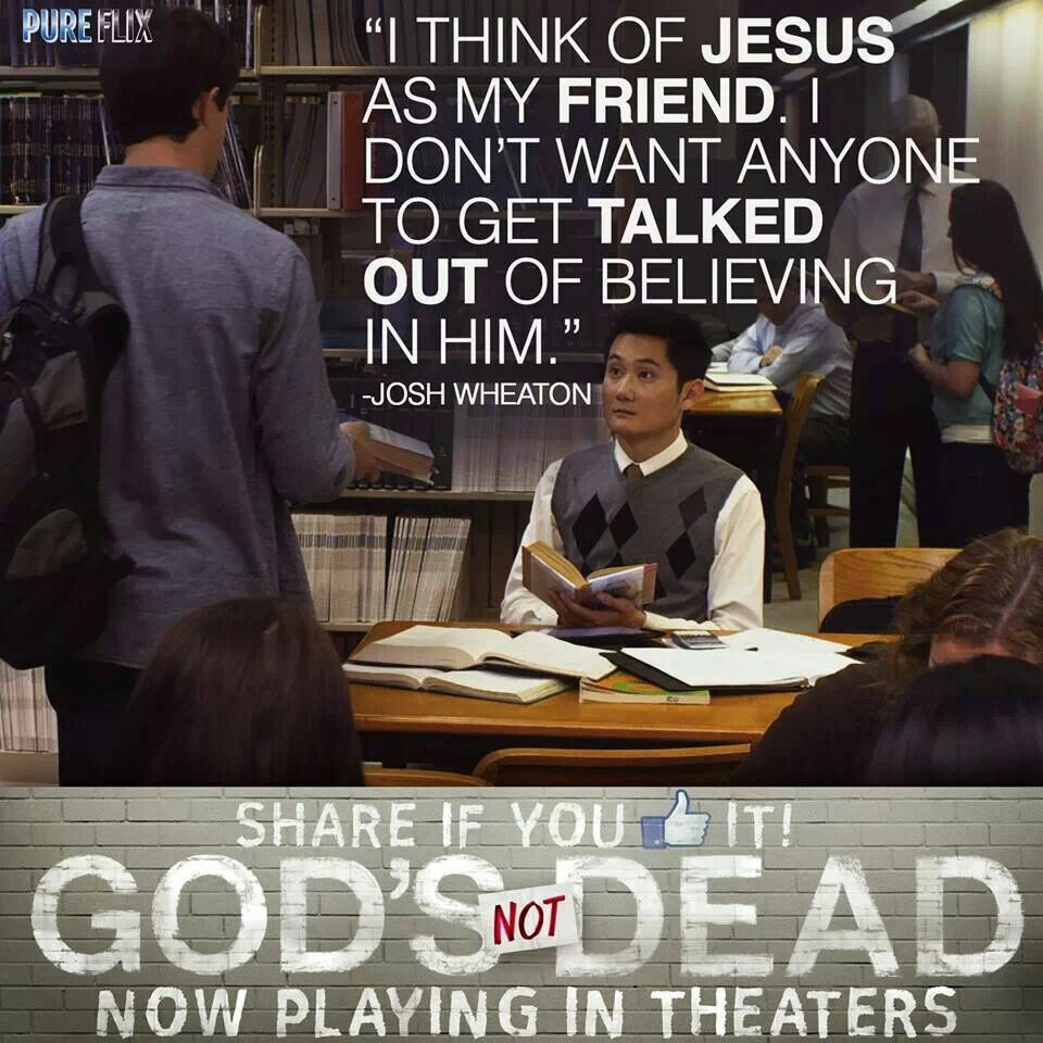 God's Not Dead movie quote Nice words about life