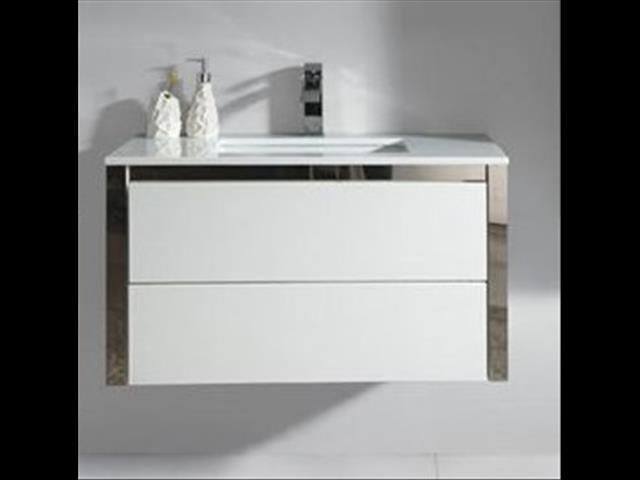 BRAND NEW WALL HUNG VANITY 900MM $290 (*RRP$590)