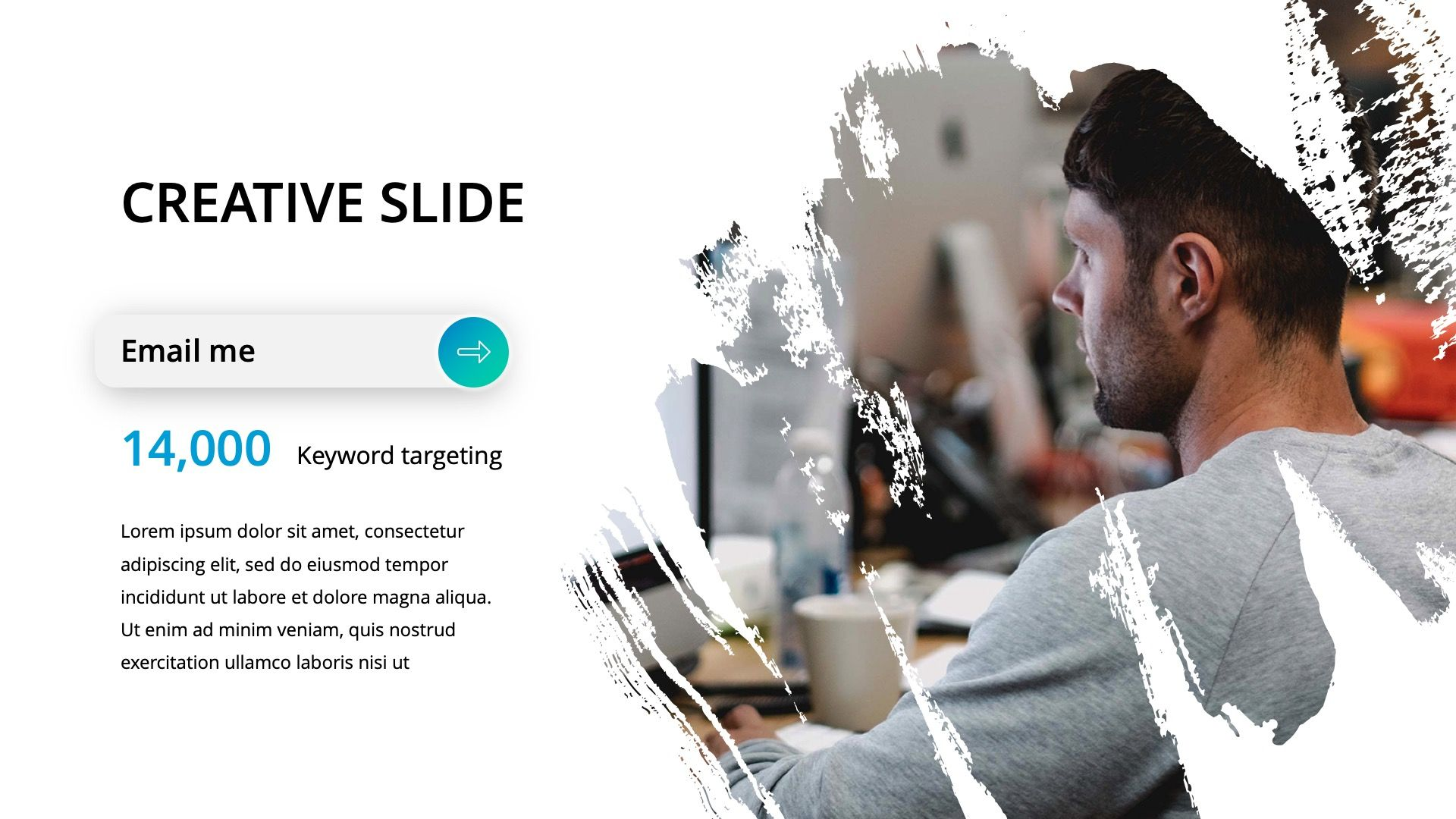 Creative Business 2019 Powerpoint Template #Business