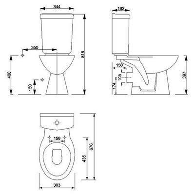 Standard Größe Badezimmer - Badezimmer | Badezimmer | Pinterest ...