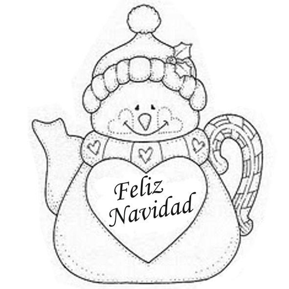 Dibujos y Plantillas para imprimir: Muñecos de Nieve | DIBUJOS Y ...