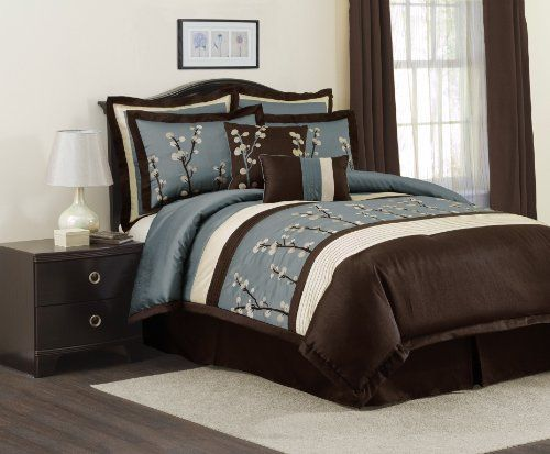 Brown And Blue Bedding Sets Brown Color Combinations