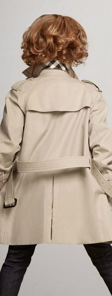 fc606326ffd5 Burberry Kids Boy Wiltshire Stone Trench Coat. This classic beige mini-me trench  coat is designed by London fashion house