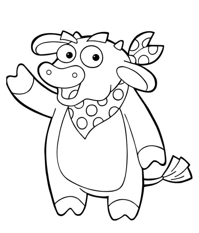 dora and boots coloring pages - Google Search kynners 3rd bday - copy elmo coloring pages birthday