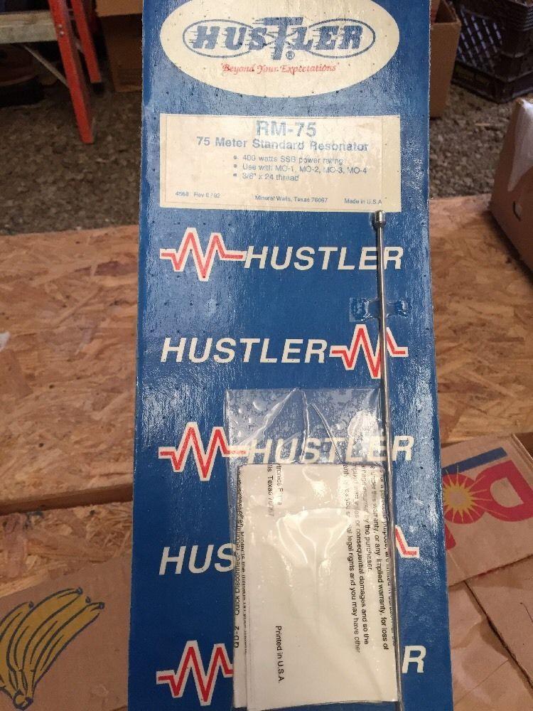 Hustler 75m Antenna