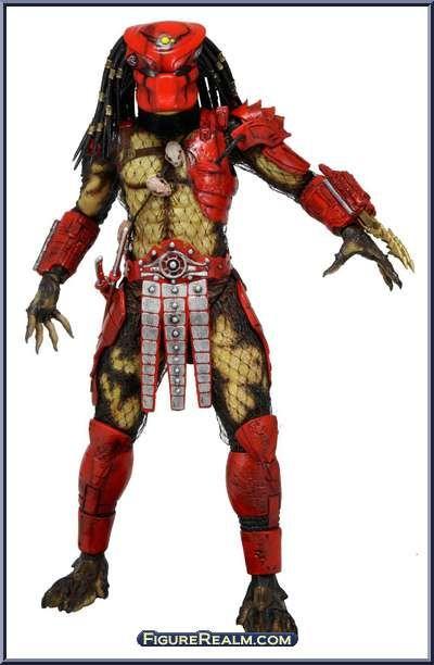 Predators 2 City Hunter Big Red Falconer Predator PVC Action Figure Model Toy
