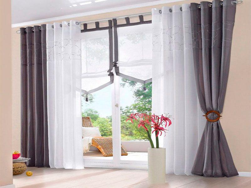 Resultado de imagen para cortinas modernas cortinas for Cortinas salon modernas 2016