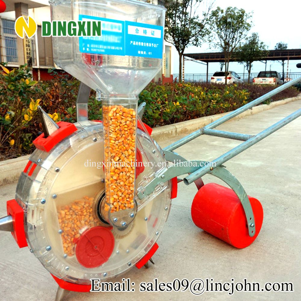 Mini Portable Manual Hand Corn Seeder Planter Seed Drill Photo
