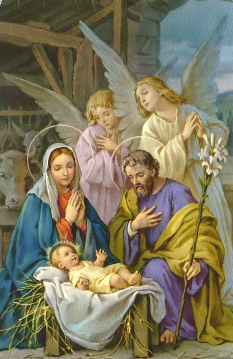 Joseph and Mary with Baby | Christ Child | Christmas ...