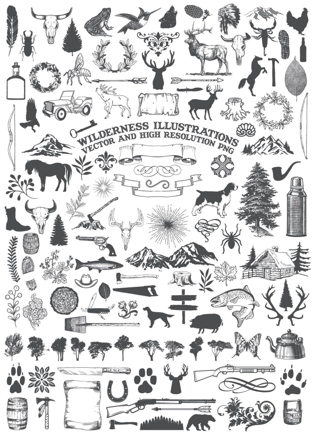 Camping Clipart Animal Clipart