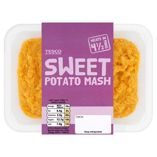 Nutrition Facts Sweet Potato Mash 400g Google Search