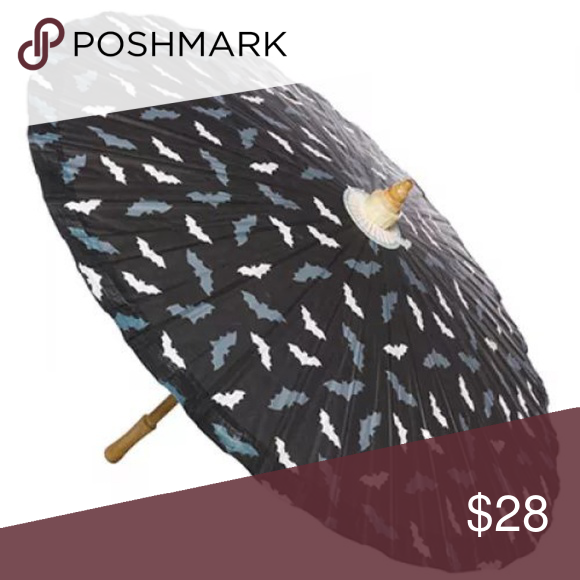 Sourpuss Gothic Spider Web Parasol Paper Punk Rockabilly Retro Sun Umbrella