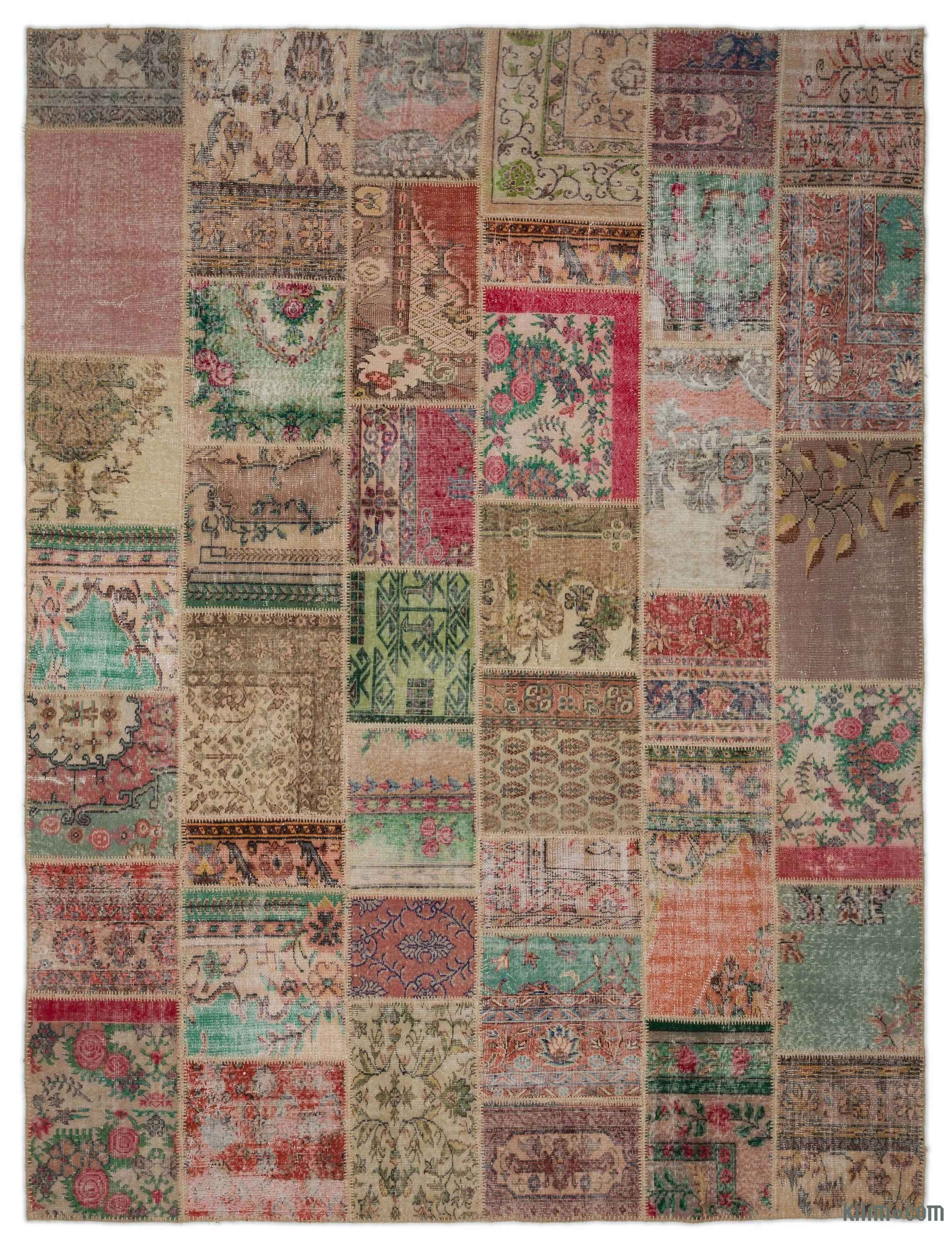 Our Vintage Patchwork Rugs Sew Together