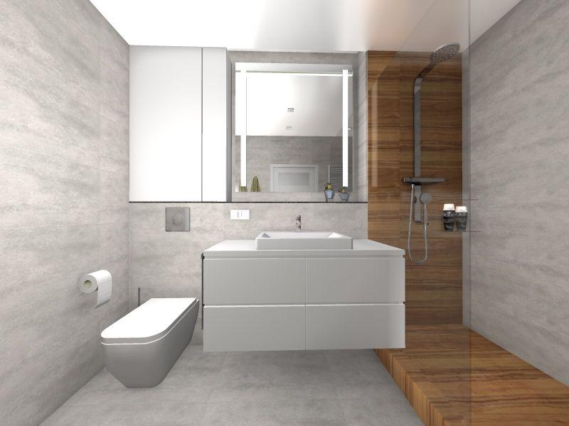 łazienka biała z drewnem - Szukaj w Google | Łazienka i ...
