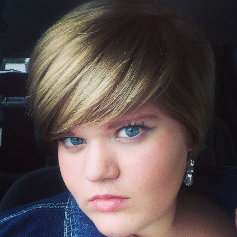 fat girls + short hair = YES! • Hi! I just wanted to say that I ...