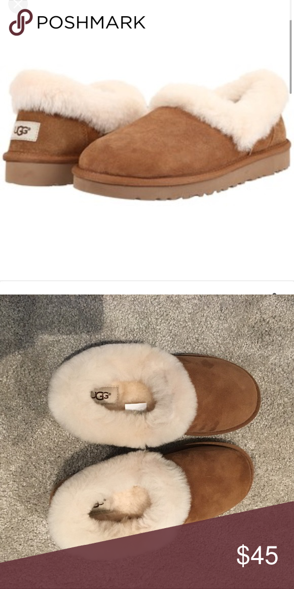 3ac956466d3a NWT ugg Nita slipper chestnut size 6 New with box ugg Nita slippers in  chestnut size 6 UGG Shoes Slippers