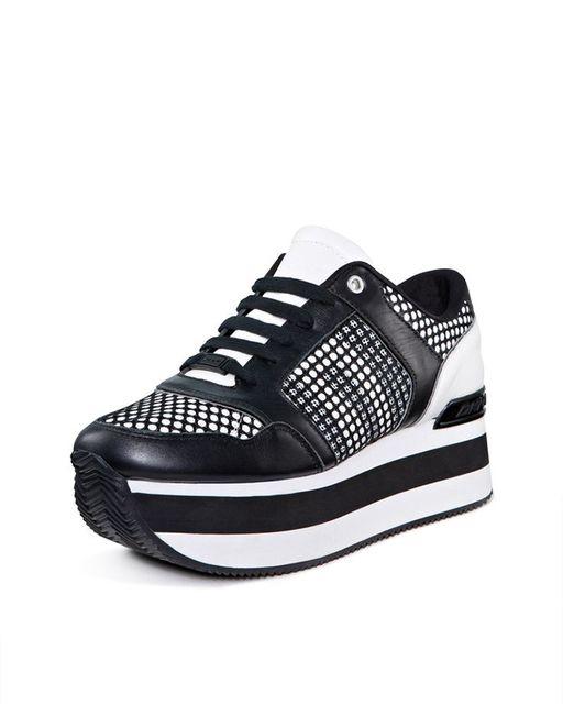 78b32384b3a DKNY Jill Platform Sneaker