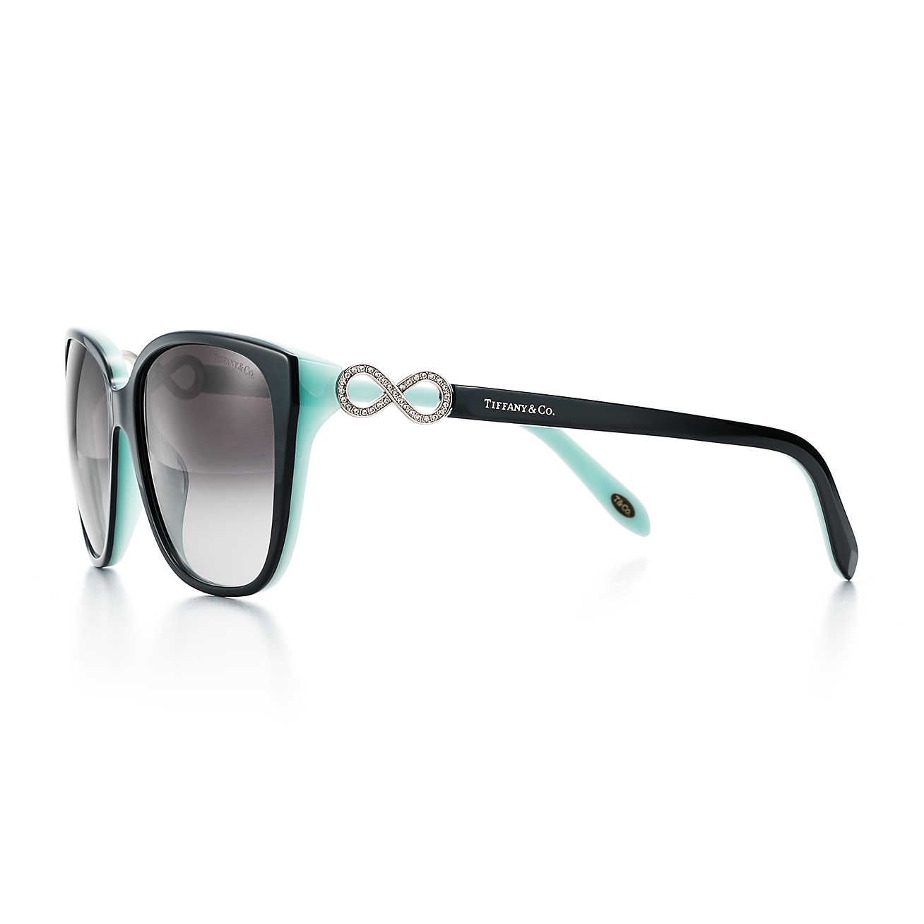 8fc07fd54747 Tiffany Infinity Square Sunglasses Available from James Doyle Opticians  Wilmslow
