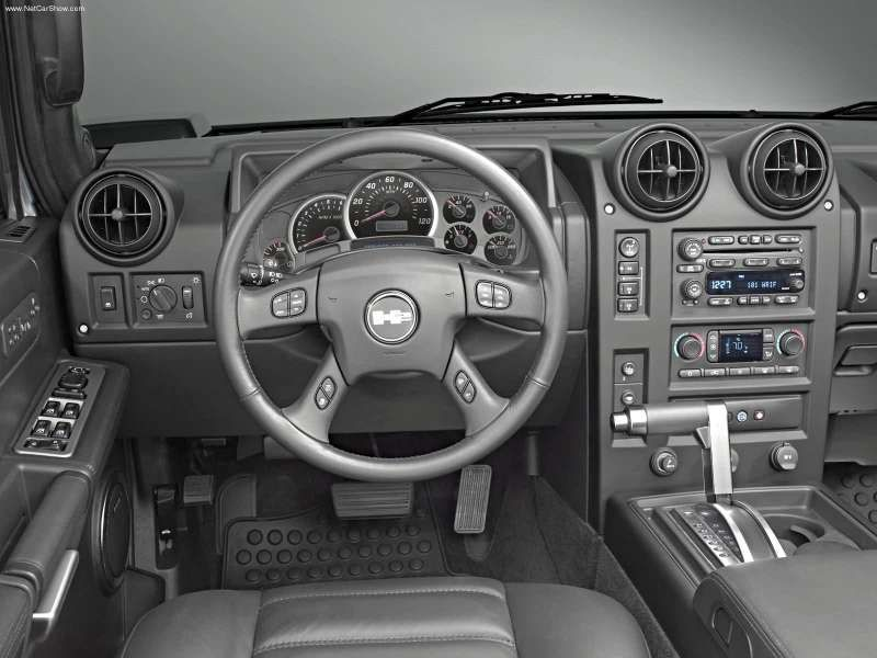 Hummer H2 Sut Interior 2005 Had The Luxury Of Driving Dads H2