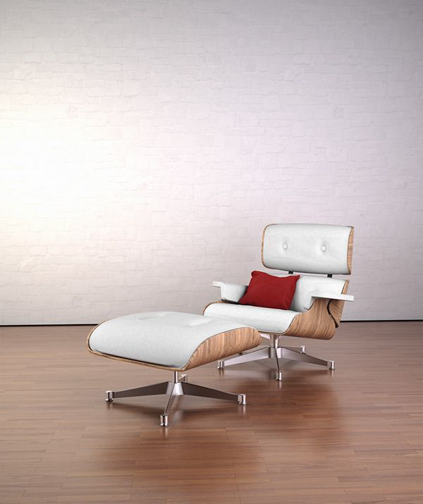 James Eames Lounge Chair Charles Eames Lounge Chair On Behance | Eames Lounge Chair ...