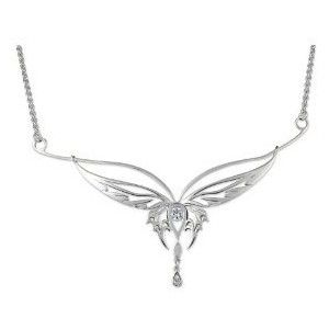 Lord of the rings elvish collier butterfly 925 sterling lord of the rings elvish collier butterfly 925 sterling aloadofball Image collections