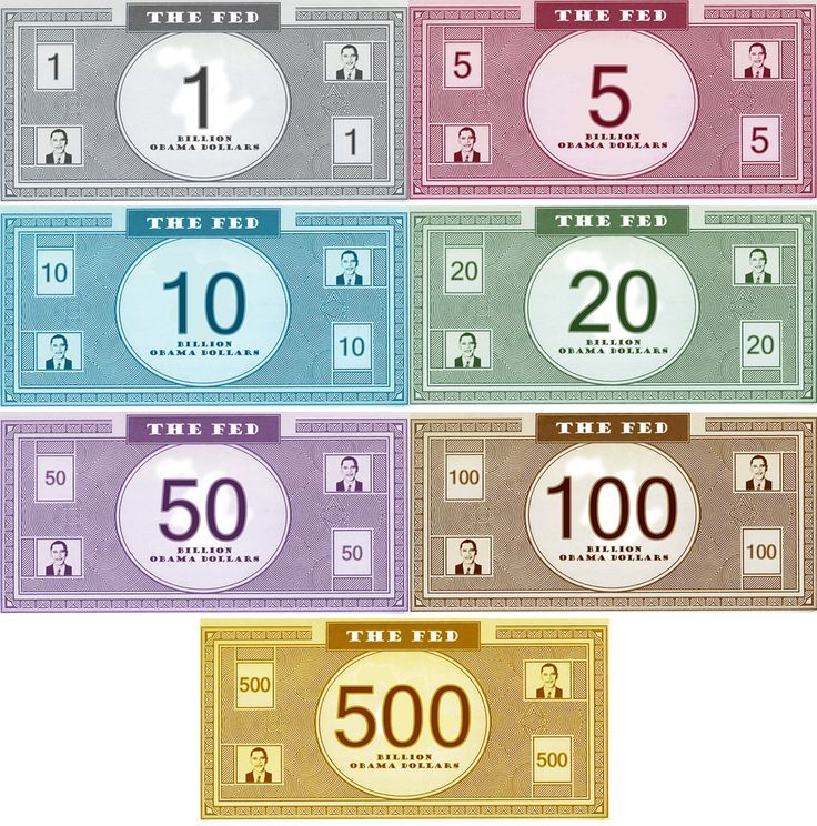 Best Free Printable Play Money | Monopoly U2013 State Of The Union 2009 Edition  At Junk  Free Money Templates