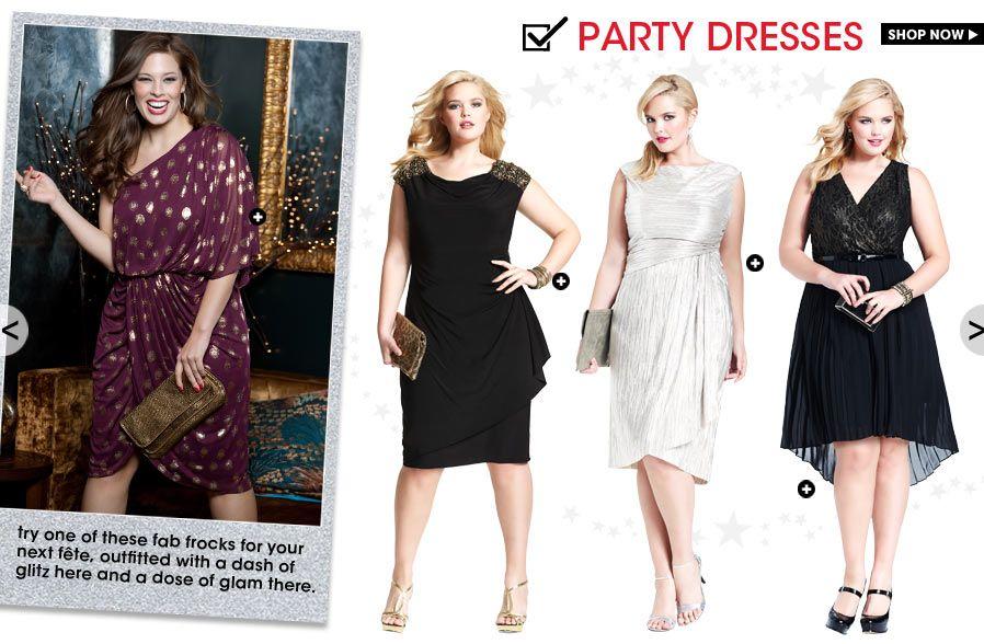 Party Dresses Plus Size